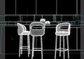 吧椅详细完整设计3d模型