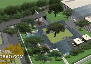 北京首创?天阅西山豪宅项目示范区 水石国际&奥雅景观