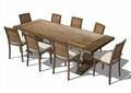 室内独特餐桌椅素材设计su模型