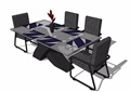 某现代餐桌椅素材设计su模型