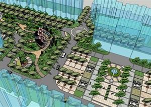 公园场景 (10)模型丰富详细,材质贴图清晰,具有很高的学习参考价值