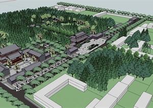 公园场景 (15)模型丰富详细,材质贴图清晰,具有很高的学习参考价值