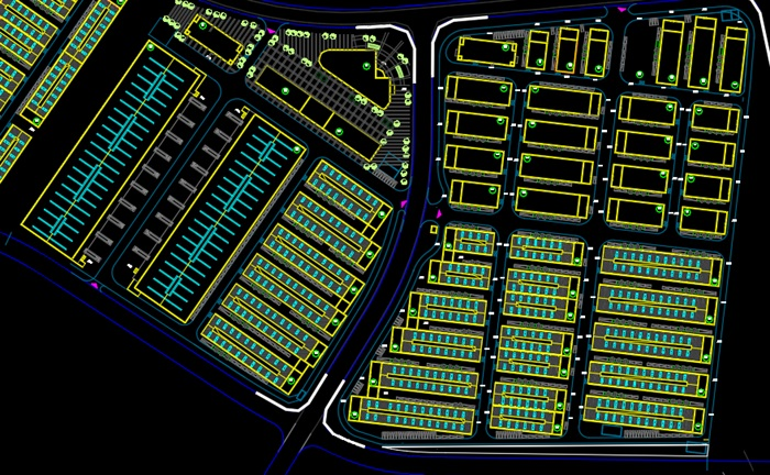工业园总图及效果图(2)