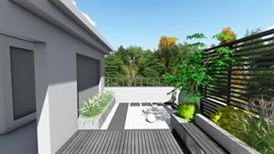 现代屋顶花园