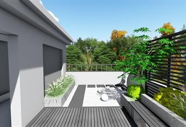 現代屋頂花園