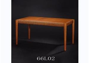 东南亚风格餐桌桌子素材3d模型及效果图