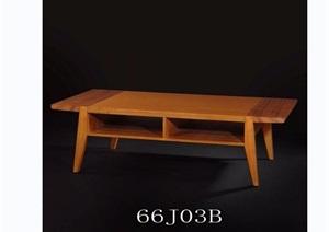 东南亚风格室内木桌子素材3d模型及效果图