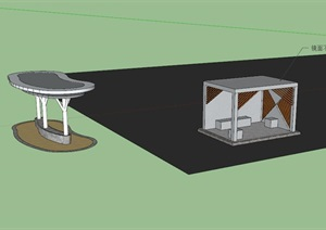 景观设计大构筑物及服务驿站设计
