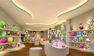玩具店设计案例效果图