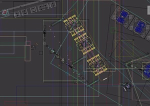 loft工业风格餐厅室内详细装饰3d模型