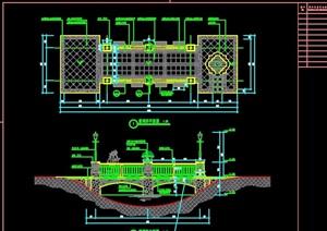 欧式景观桥详细设计cad施工图