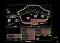 详细的景观桥、亲水木平台设计cad施工详图