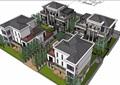 某小区别墅组团建筑设计su模型