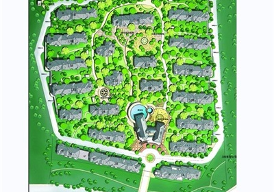 现代风格住宅小区规划设计jpg方案及实景图