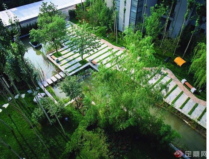 現代風格住宅小區規劃設計jpg方案及實景圖
