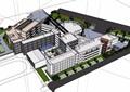 某详细的多层学校整体建筑楼设计su模型