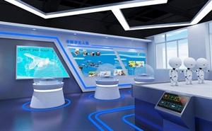 企业展厅.销售展厅设计案例效果图