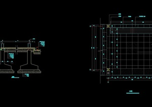 长廊铺装设计cad施工图