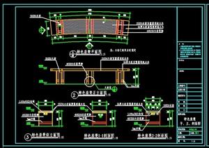 详细的完整木凳设计cad施工图