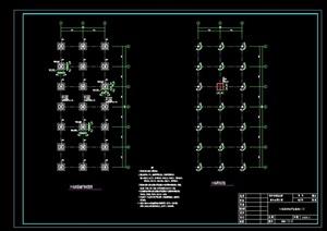 亲水平台设计cad方案