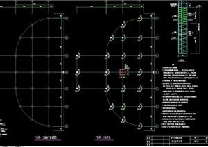 亲水平台详细完整设计cad方案