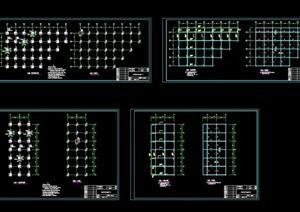 亲水平台cad结构图