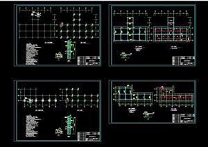 亲水平台节点设计cad方案