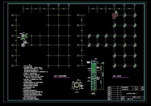 某标段亲水平台设计cad方案