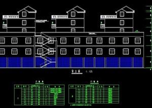 多层商住楼建筑设计图