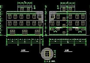 三层商住楼建筑设计图纸