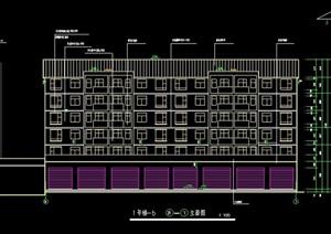 六层商住楼建筑设计图纸