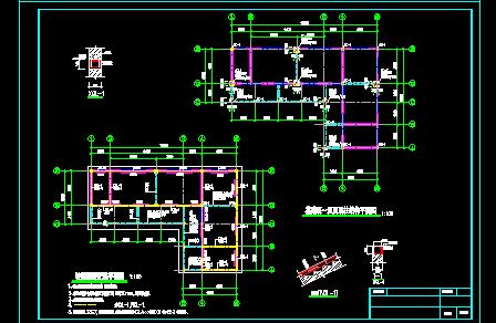 公园管理房施工图(1)