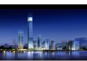 某詳細的星級海天酒店建筑設計ppt方案