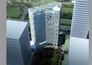 某详细的银行办公建筑楼设计pdf方案