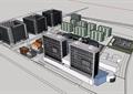 某地商业办公详细综合楼设计su模型