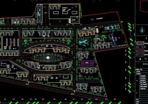 某现代风格住宅小区规划cad方案