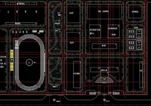 安监局详细规划设计cad方案