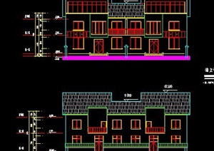 三层自建房民居建筑设计图纸