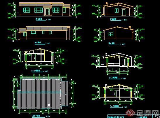 二层农村自建房住宅建筑设计图纸