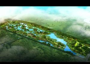 山东某湿地公园设计方案