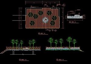 木平台观景台设计图纸