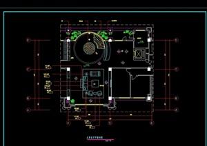 客厅装修详细设计cad施工详图