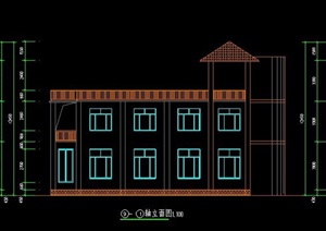 二层民居自建房住宅建筑设计图纸