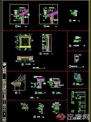 欧式风格二层豪华别墅建筑施工图