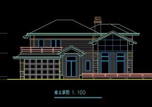 美式自建房别墅建筑设计方案