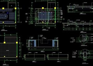 会议室装饰详细设计cad施工详图