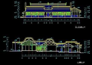 古典中式四合院建筑设计图纸