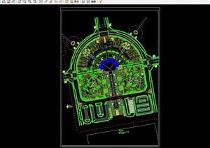 某广场景观规划设计CAD方案