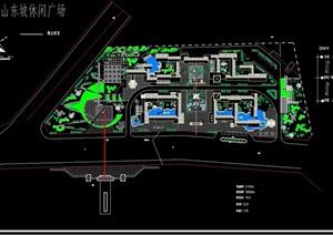 某详细的广场景观规划设计CAD方案