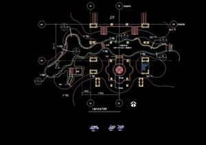 详细的儿童戏水池设计cad施工图